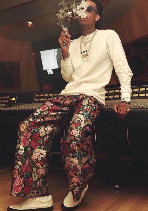 ウィズ・カリファ(Wiz Khalifa):マルケス・アルメイダ(Marques Almeida)/バンズ(Vans)