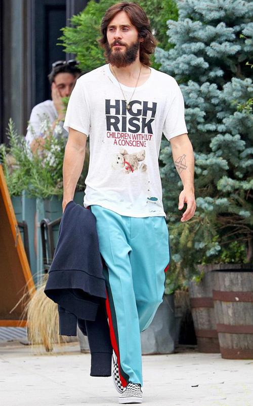 ジャレッド・レト(Jared Leto):アンファン・リッチ・デプリメ(Enfants Riches Deprimes)/グッチ(Gucci)/バンズ(Vans)