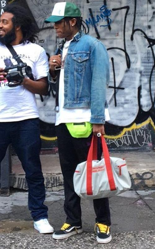 エイサップ・ロッキー(A$AP Rocky):リーバイス(Levi's)デニスロットマン(Dennis Rodman)ニードルズ(Needles)バンズ(Vans)