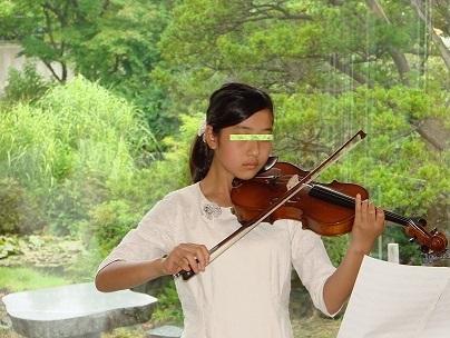 復活した父のバイオリン