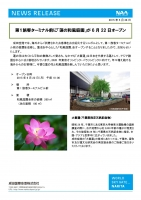成田空港のハス池オープンチラシ