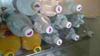 冷蔵庫にあるソーダ