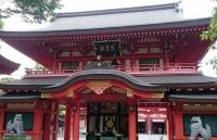 千葉神社の門