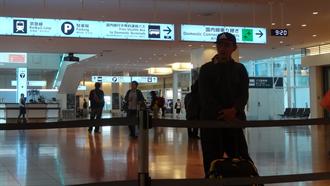 羽田空港国際線ターミナル シュタインズ・ゲート 聖地巡礼