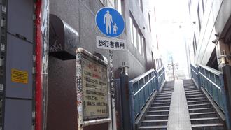 神田ふれあい橋前 シュタインズ・ゲート 聖地巡礼