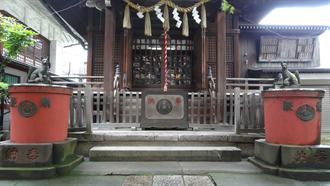 柳森神社 シュタインズ・ゲート 聖地巡礼