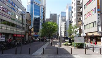 東京メトロ日比谷線秋葉原駅3出口付近 シュタインズ・ゲート 聖地巡礼