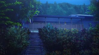 響け!ユーフォニアム 聖地巡礼 アクトパル宇治 宿泊棟(花の館前)