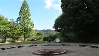 響け!ユーフォニアム 聖地巡礼 アクトパル宇治 山のキャンプファイアー場