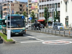 本川越駅待機スペース