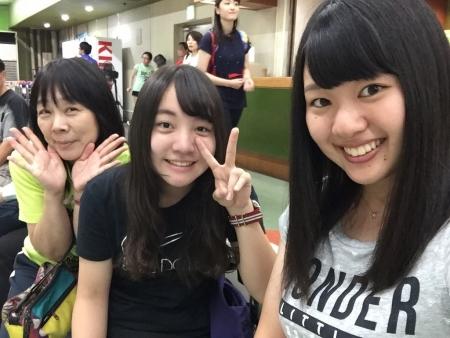 澪奈ちゃんとママさん