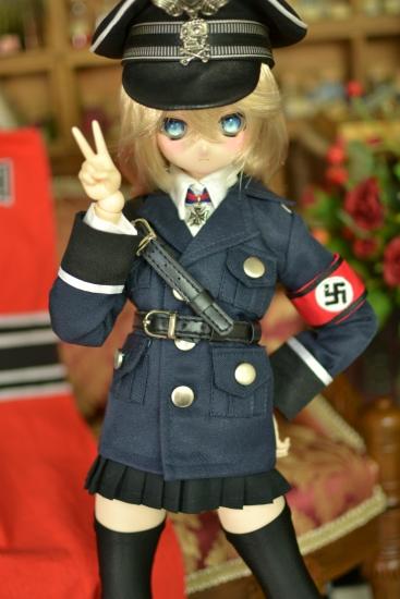 デグレチャフ少佐-親衛隊黒服ver-6