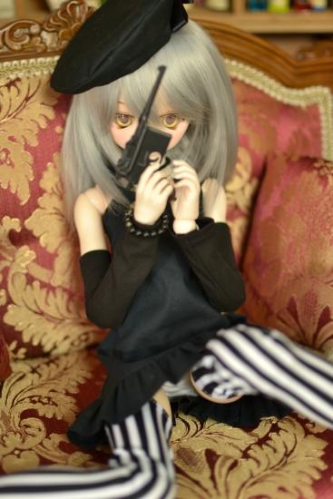 銀髪黒ワンピ-5