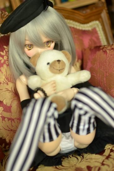 銀髪黒ワンピ-6