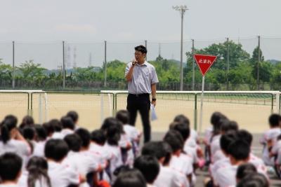 交通安全講習/四郷高校