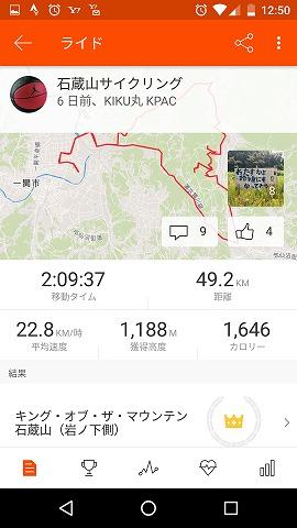 2017717石蔵山サイクリング