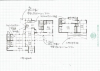 渡辺邸工事前図面
