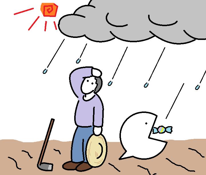 384つちのこ干天の慈雨2