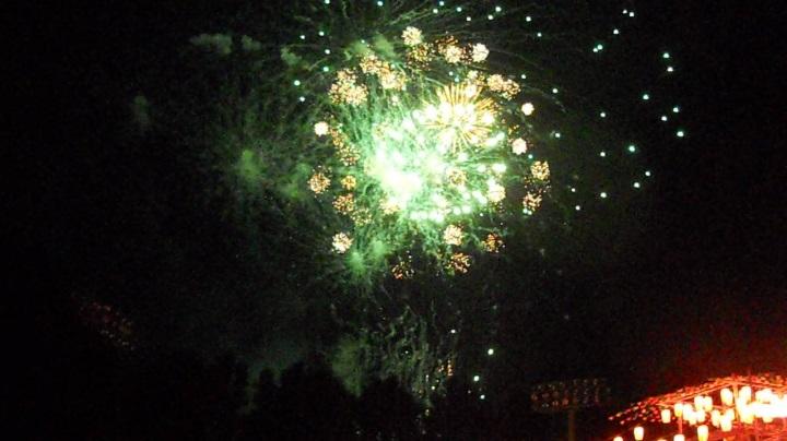 四街道の花火大会の2日日、13