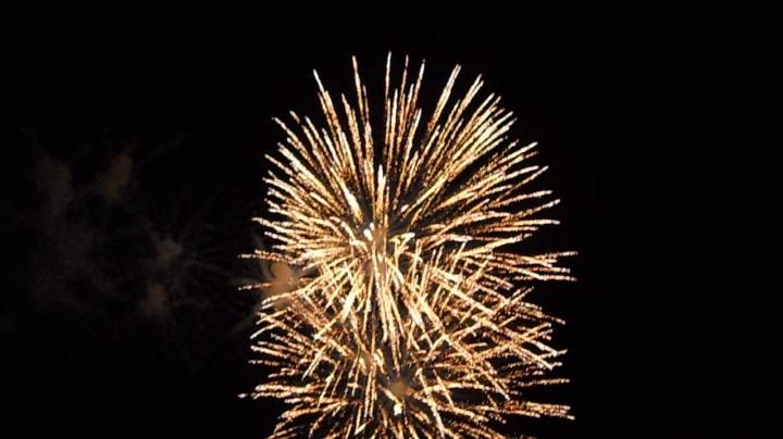 四街道の花火大会の2日日、25
