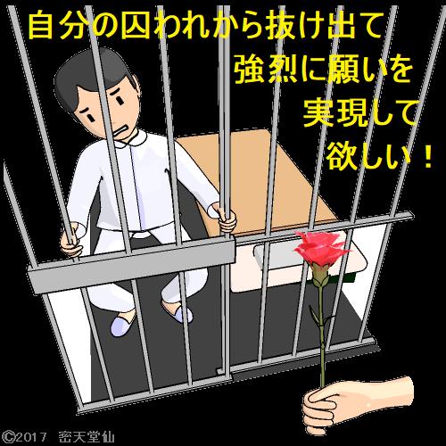 自分の囚われから抜け出て強烈に願いを実現して欲しい!2
