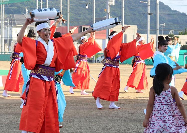 ふれあい祭り よさこい踊り 29.7.17