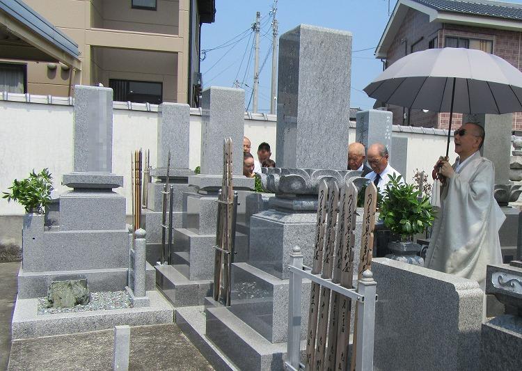 叔父のお墓参り 29.7.30