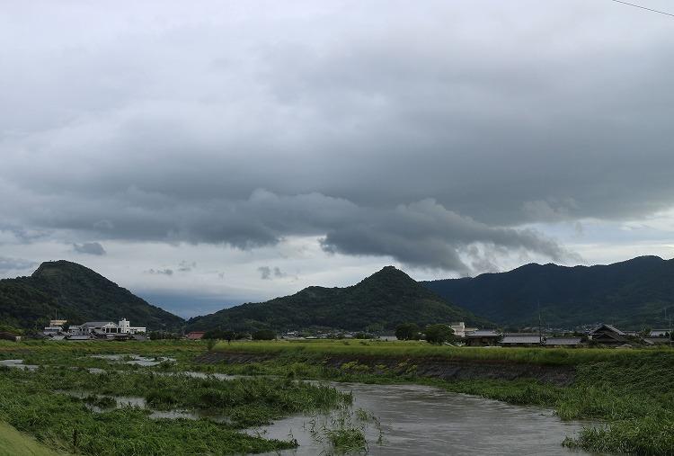 台風5号通過後 29.8.7