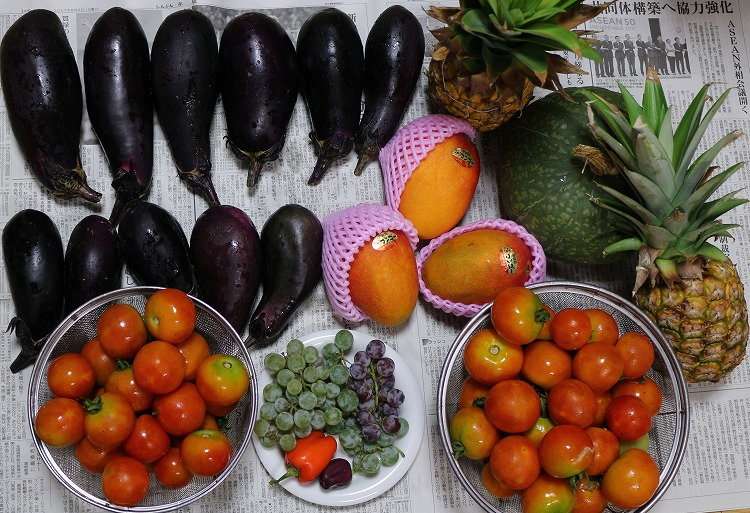 野菜と果物いっぱい 29.8.7