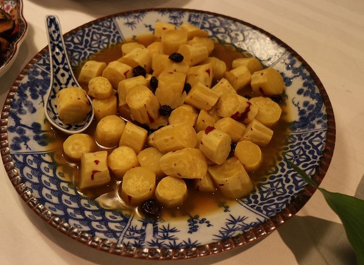 さつま芋も美味しい料理に 29.8.11