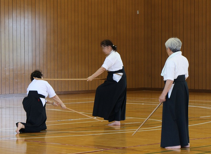 薙刀のお稽古 3 29.8.18