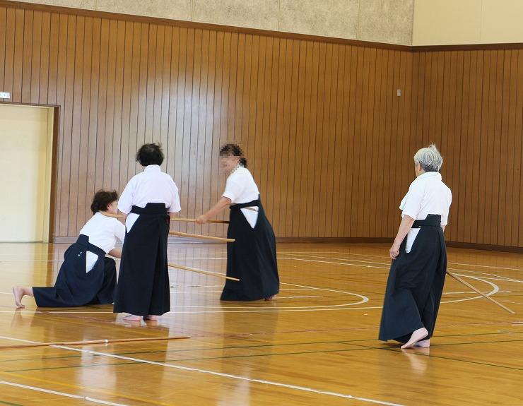 薙刀愛媛より お稽古 5 29.8.18