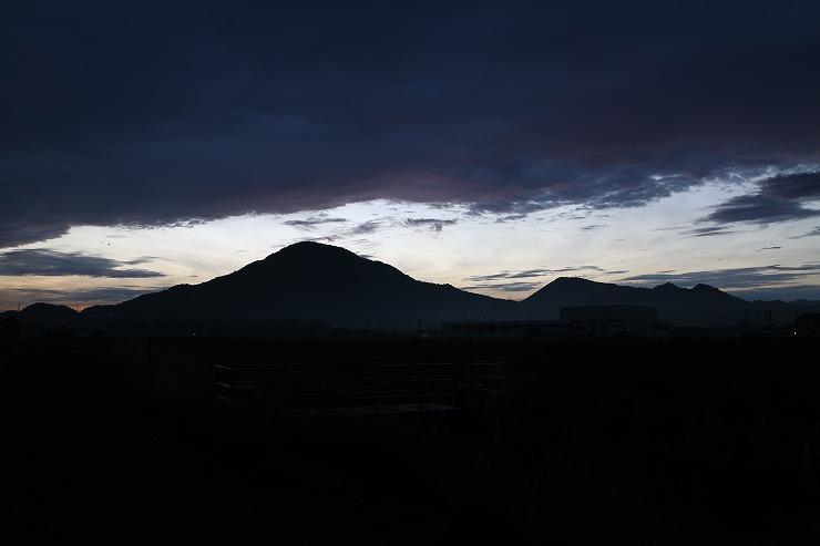 讃岐富士 5時55分 29.8.22