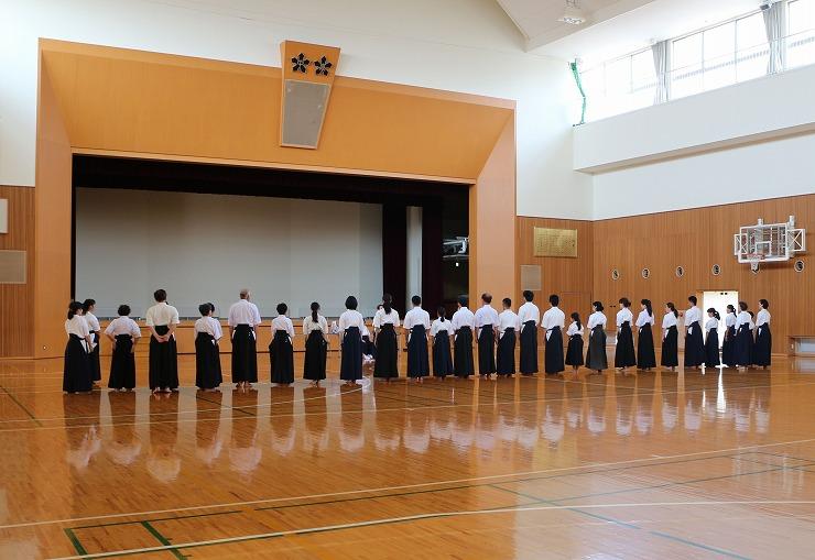 薙刀審査会 閉会式 結果発表 29 8 27