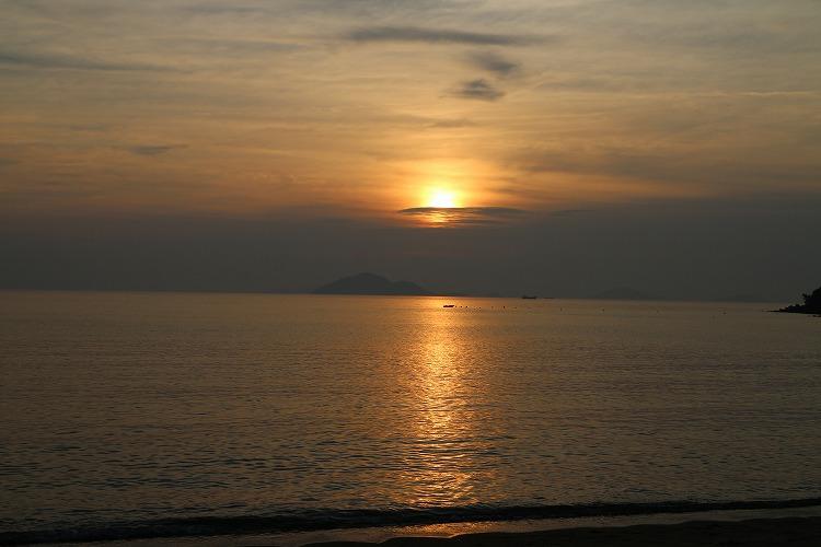太陽が沈んで~~ 29.7.15