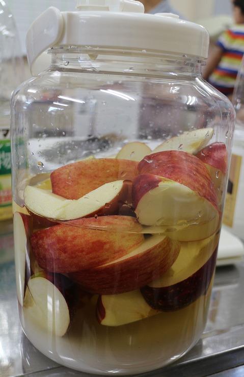 リンゴ酢作ろう 29 9 20
