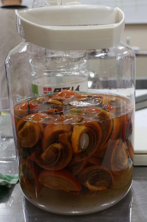 柿酢も作ろう 29 9 20