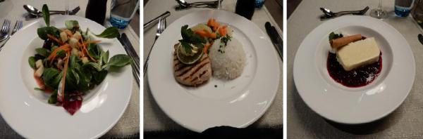 サンスター ホテル夕食
