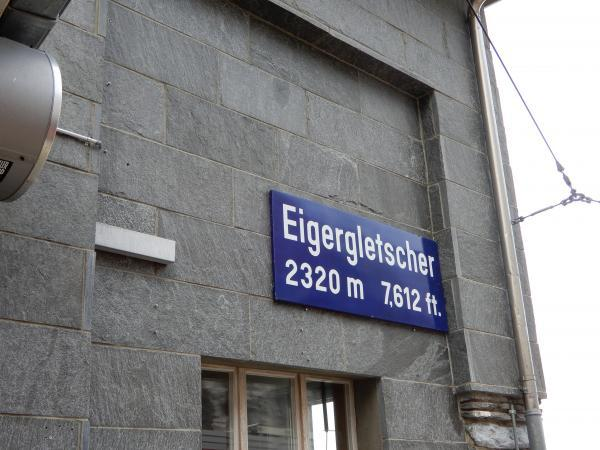 アイガーグレッチャー駅