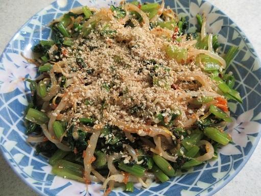 170916-231小松菜ともやしのナムル(S)