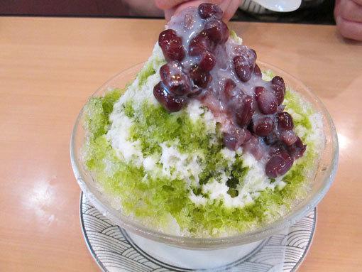 かき氷(抹茶)