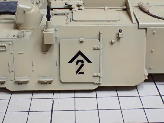 M109パラディン自走砲 デカール貼り直し