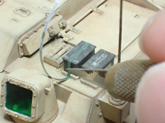 M109パラディン自走砲 ストラップ取り付け