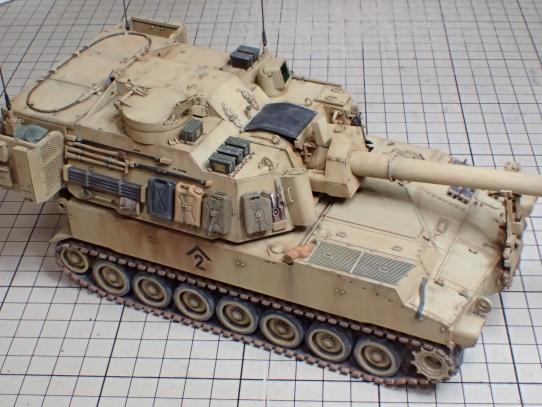 M109パラディン自走砲 装備品積載