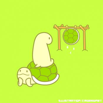 亀イラスト