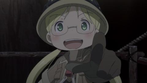 メイドインアビス 第3話 出発 アニメ実況 感想 画像