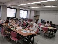 朝日カルチャー北九州 ポジャギ教室