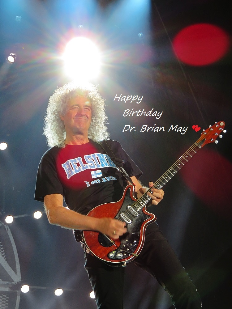 Happy Birthday Brian May