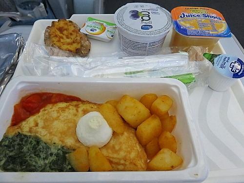 フィンエアー ヘルシンキ 福岡 機内食 Finnair