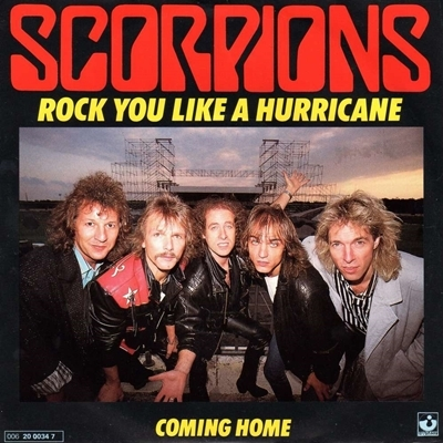 Scorpions _ Rock You Like a Hurricane Cover